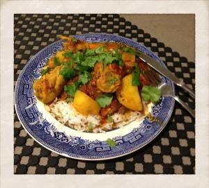 chicken drumstick stew photo